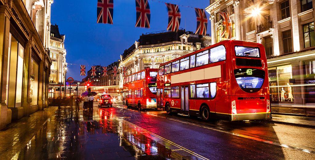 Disfrute de la capital londinense