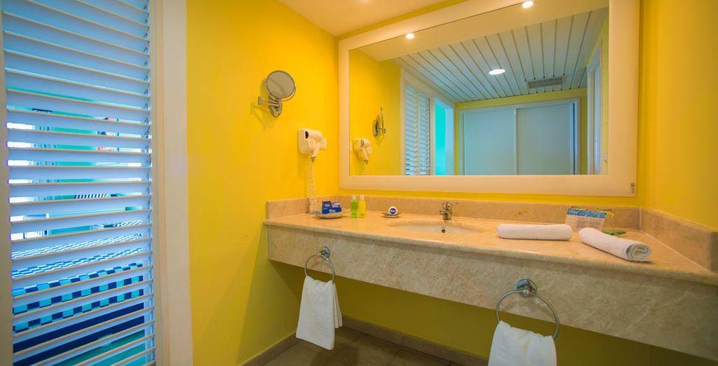 Con baño privado perfectamente equipado