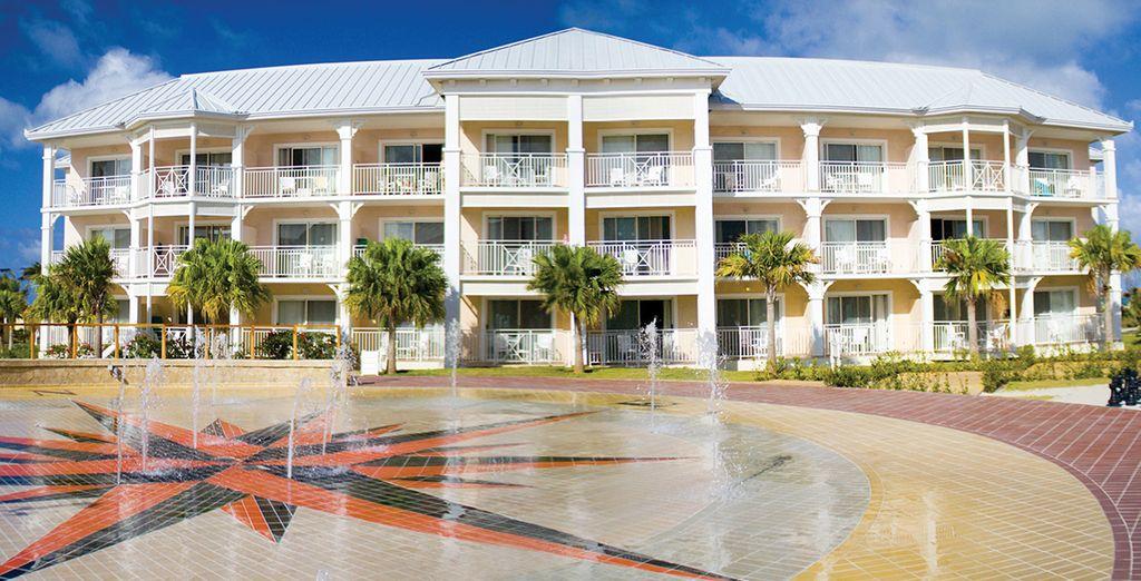 Disfrute del resort en unas magníficas instalaciones de lujo