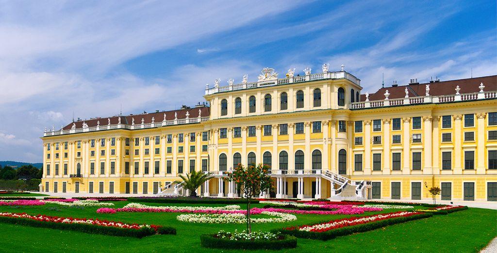 Pasee por el Palacio Schonbrunn, con sus impresionantes jardines