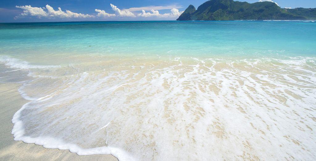 Disfrute de sus playas de aguas cristalinas