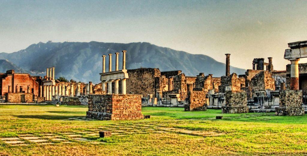 No se puede perder la ciudad de Pompeya