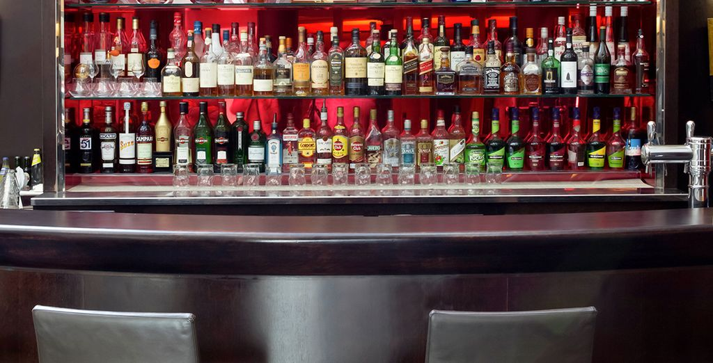 Tómese un cóctel en el bar de La Défense
