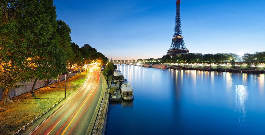 Río Sena y La Torre Eiffel