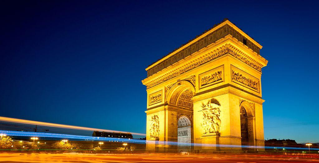 Descubra el emblemático Arco de Triunfo