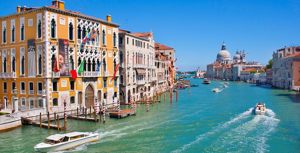 Venecia le enamorará con sus canales, callejuelas y plazas