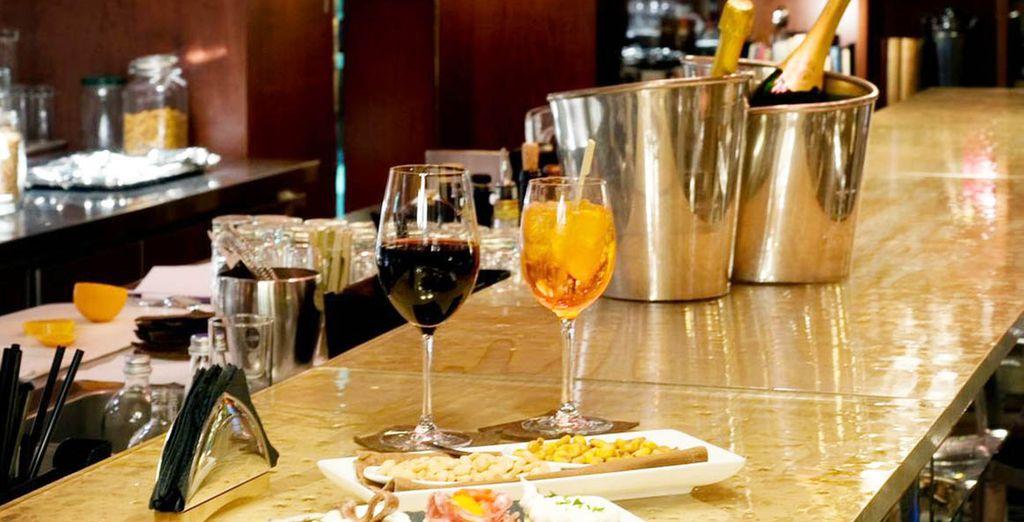 Un hotel perfecto para hacer el famoso aperitivo italiano