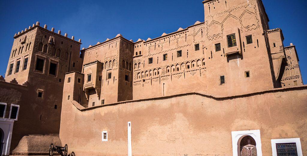 La Kasbah de Taourirt destaca entre otras en Ouarzazate