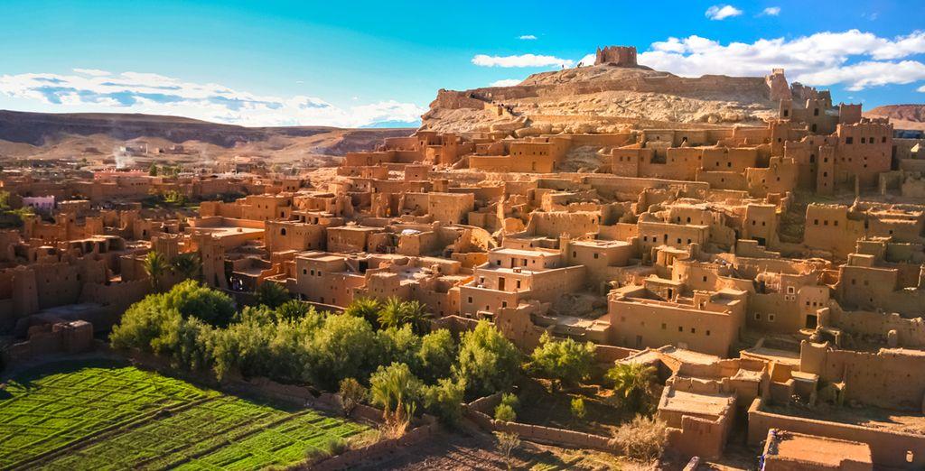 Ouarzazate, considerada la puerta de gran desierto