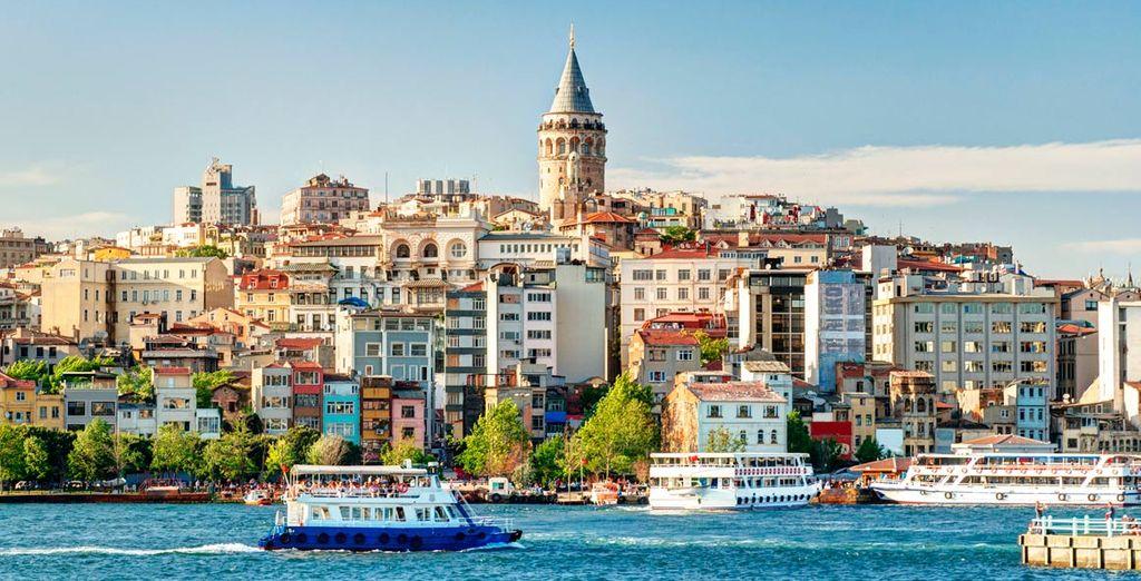 Bienvenido a la mágica ciudad de Estambul