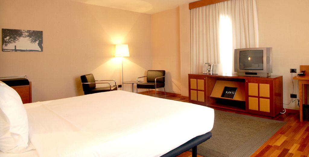 Amplias estancias para un alojamiento encantador