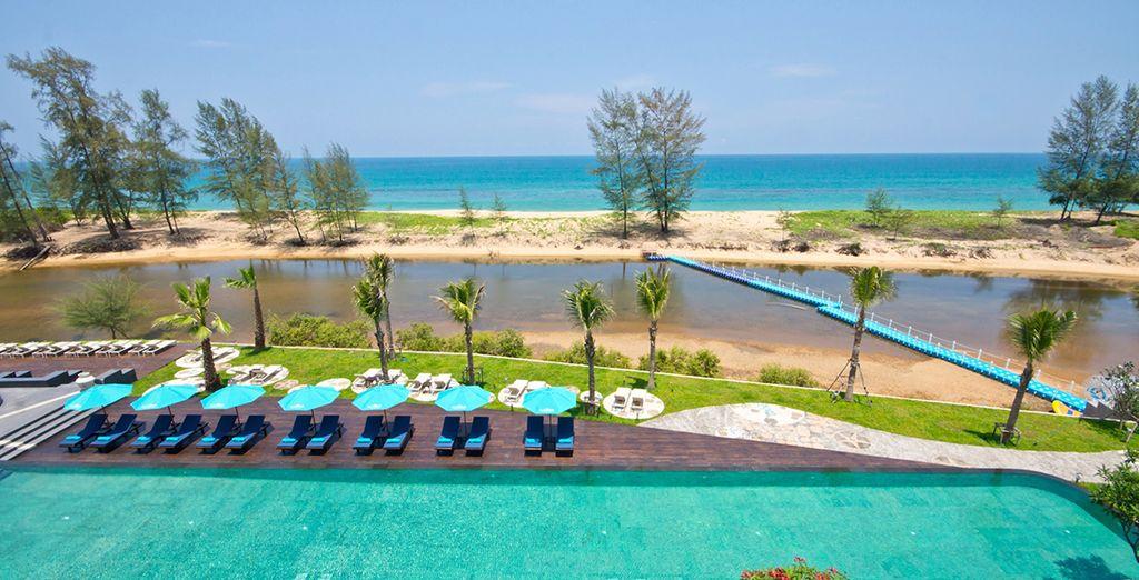 Un paraíso a solo 2 minutos a pie de la playa de Natai