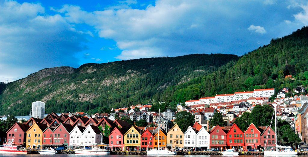 Descubra Bergen, una preciosa localidad pesquera