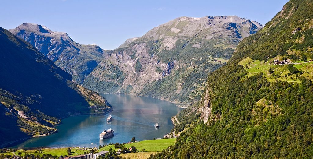 No se pierda el impresionante Fiordo de Geiranger