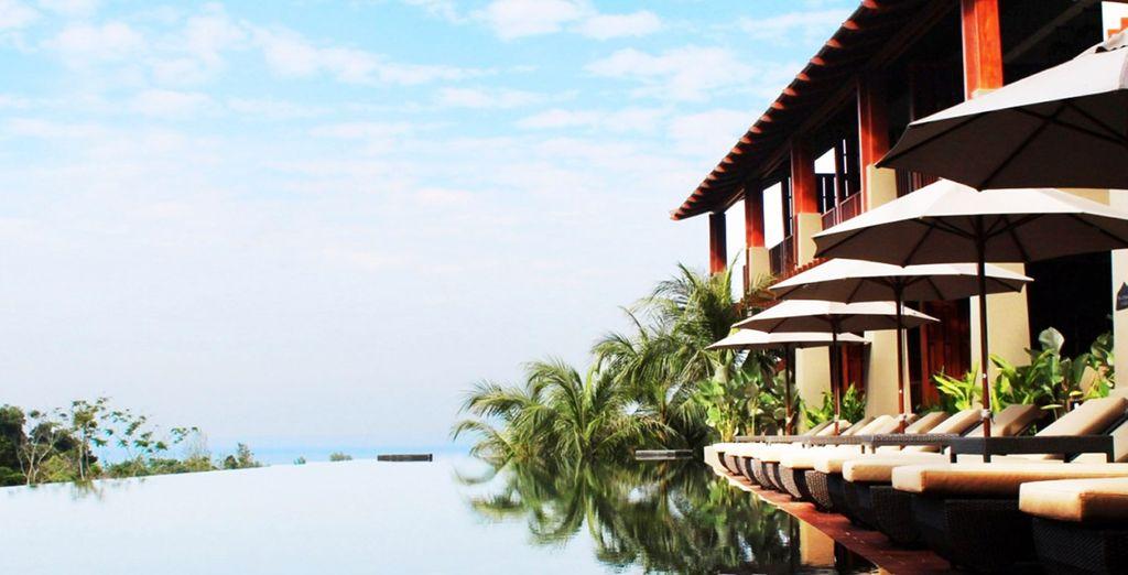 Disfrute de la paz y la tranquilidad que evoca el lugar