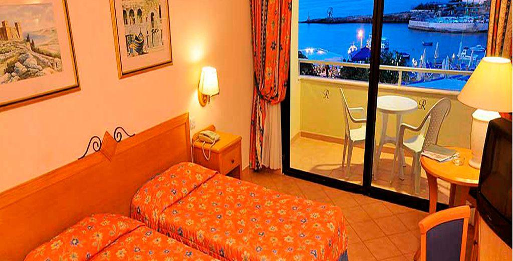 Confortables habitaciones para su descanso