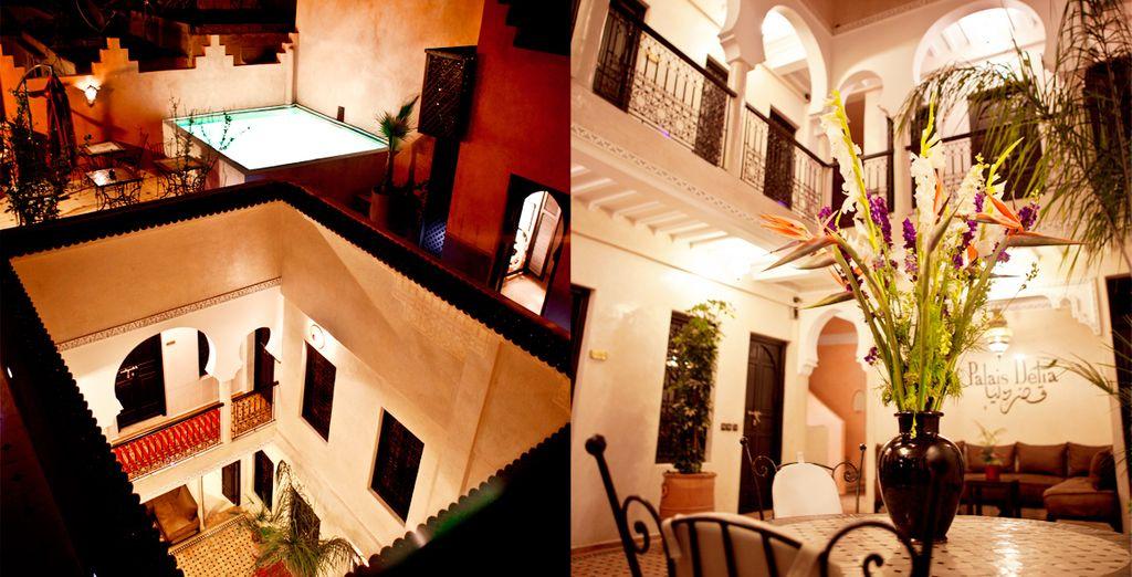 Una ubicación excepcional en el corazón de la Medina de Marrakech