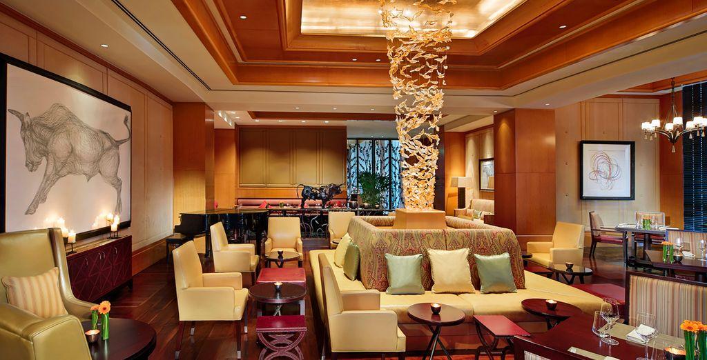 El hotel cuenta con un diseño único y eclusivo