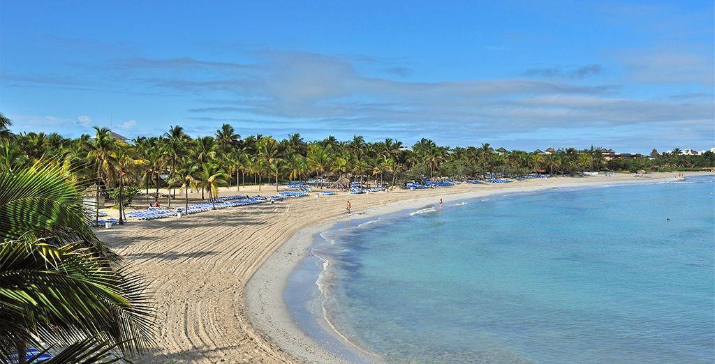 Disfrute de la playa en Punta Francés, unas de las mejores zonas de Varadero