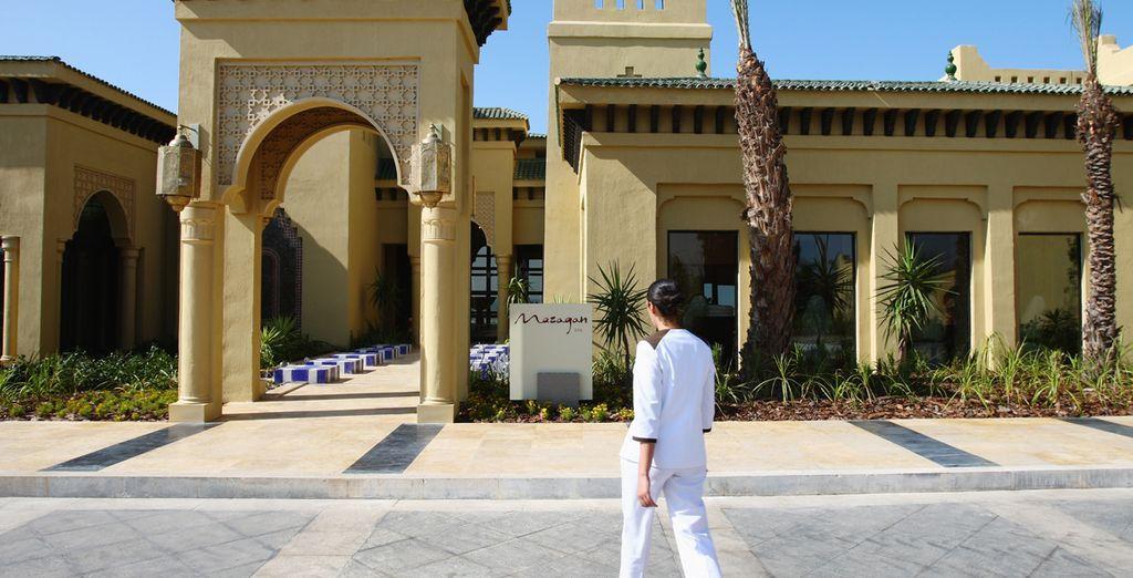 Un fantástico hotel en Marruecos