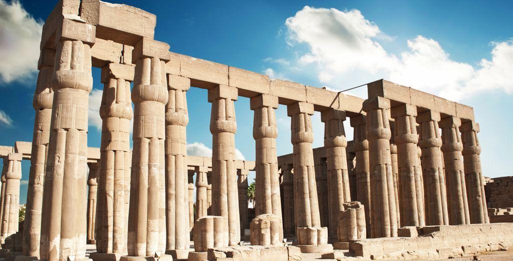 Visite el Templo de Luxor