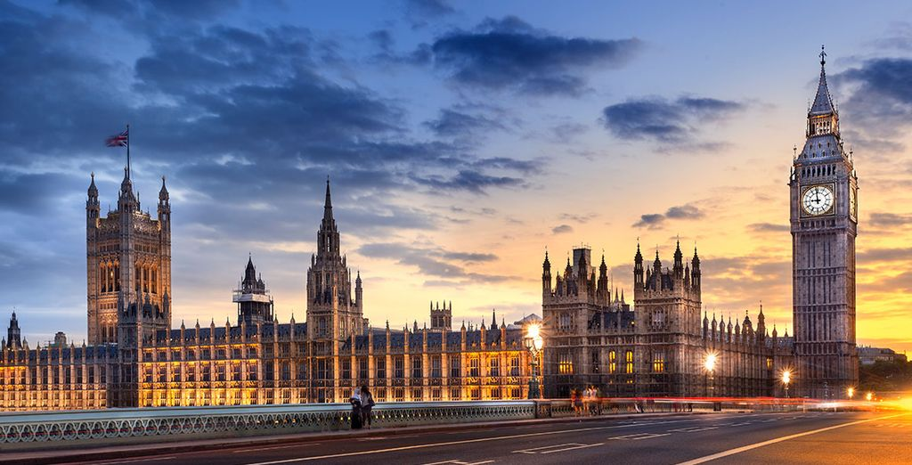 Visite la mítica y famosa Westminster