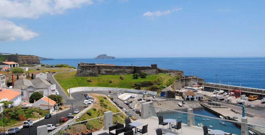 Disfrute de increíbles vistas desde el Hotel