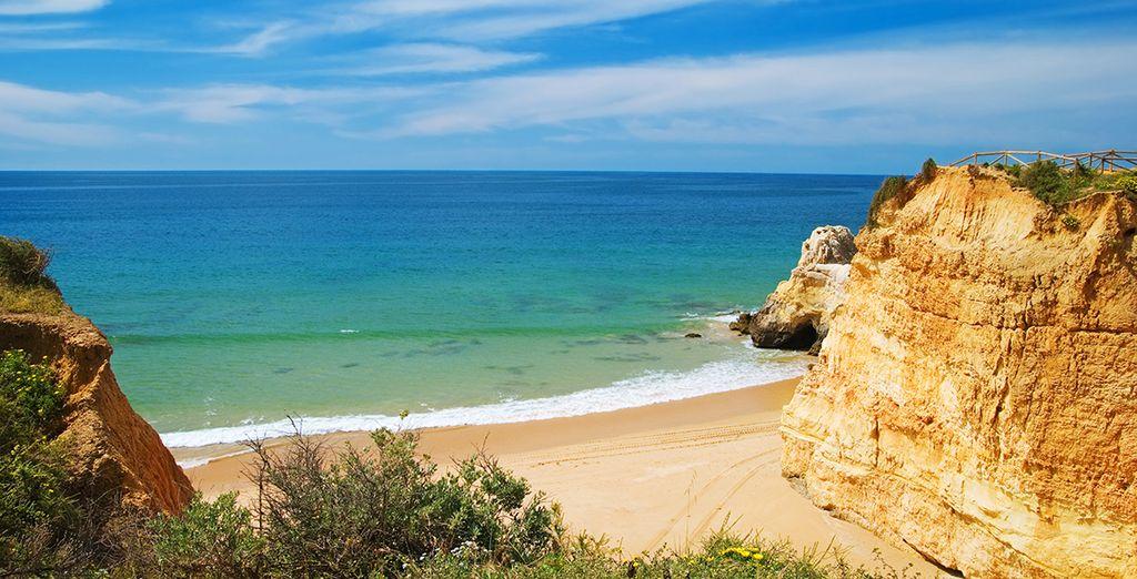 Venga a conocer las playas de la Albufeira