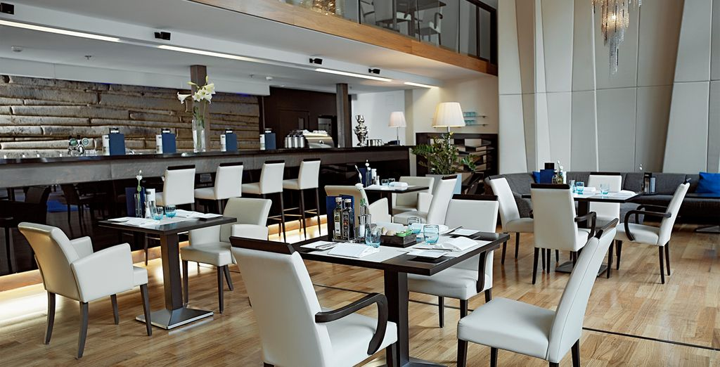 El Restaurante Arrabona sirve platos húngaros e internacionales
