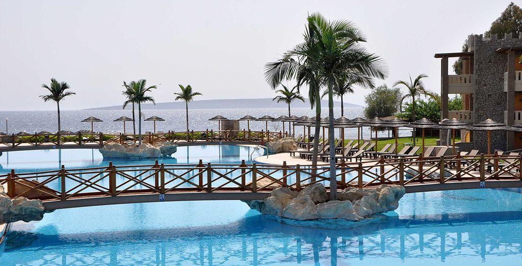 El Kandia's Castle Hotel, es un hotel de 5 estrellas situado en Kandia