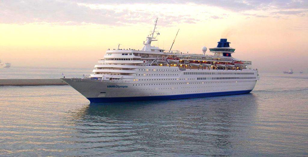 Relájese en el maravilloso crucero Iconic Aegean