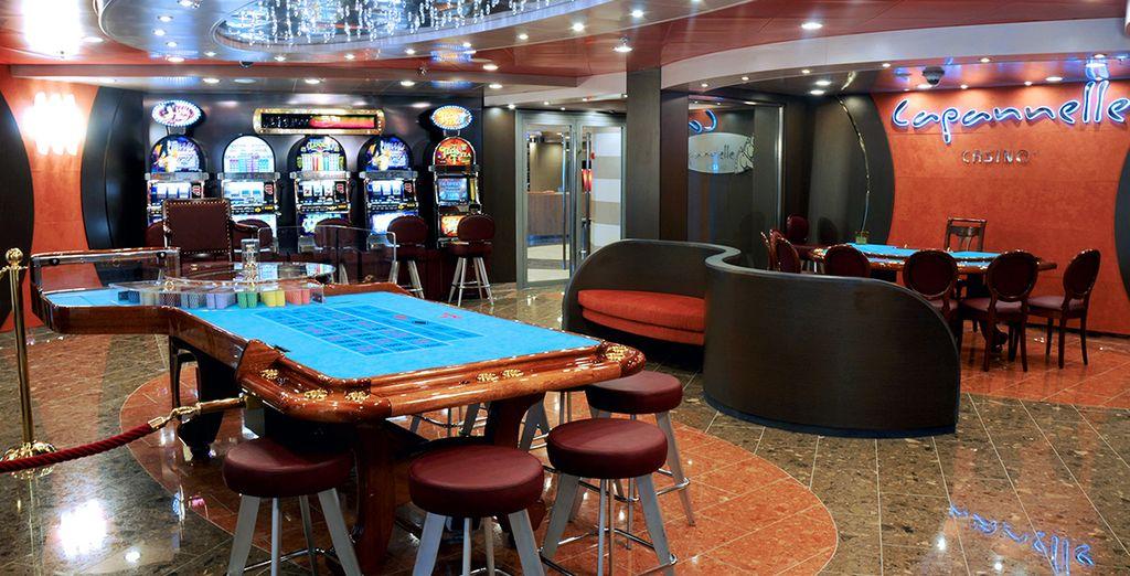 Descubra un amplio espacio dedicado al Casino