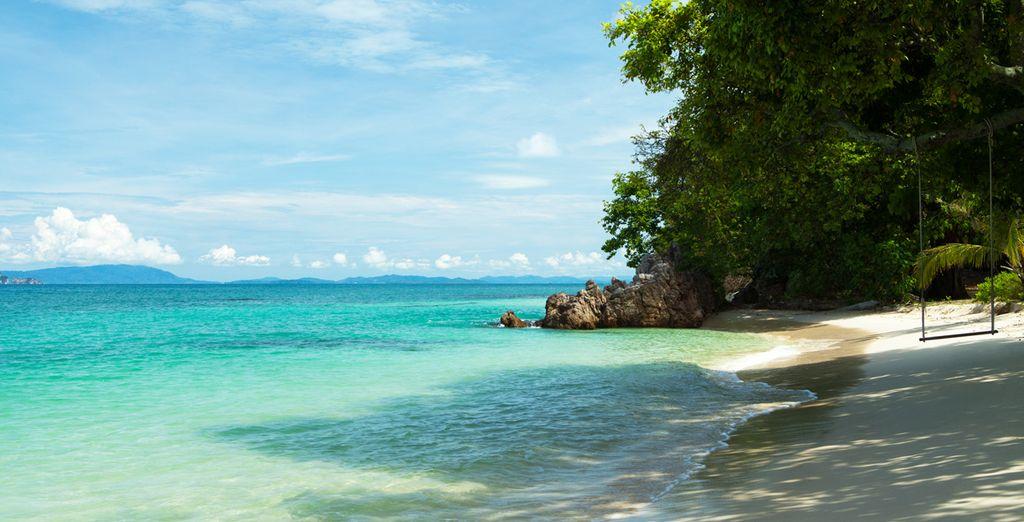 Hermosas playas de arena blanca y aguas cristalinas