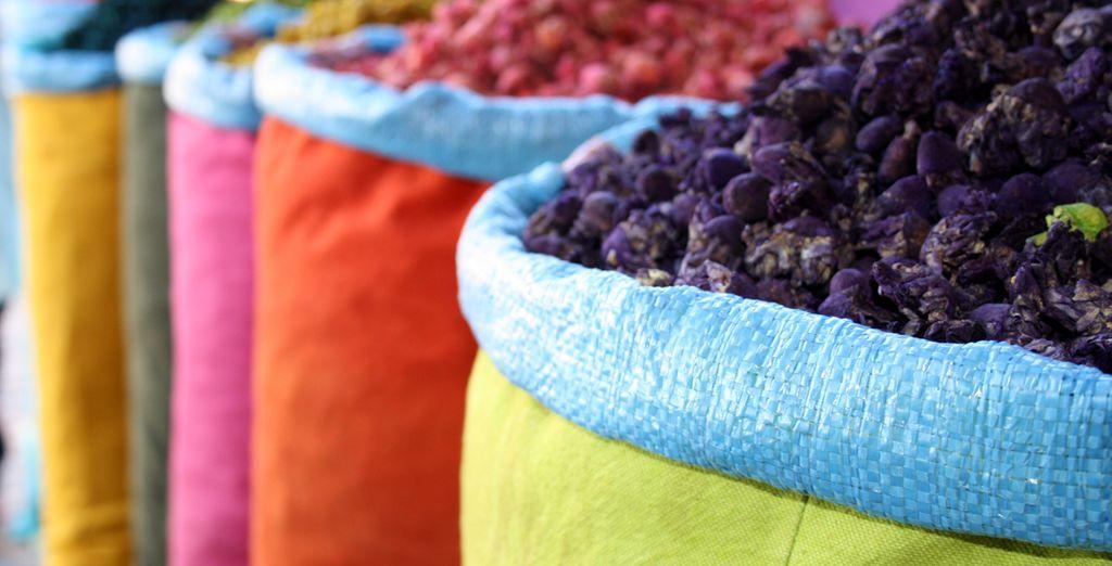 Colores y aromas que le atraparán