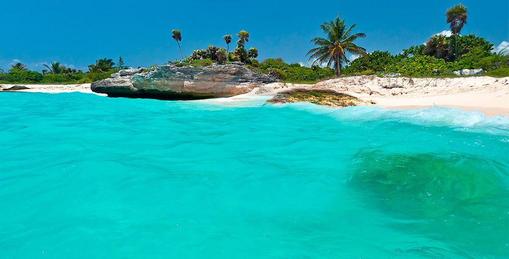 Situado en el centro de la ciudad de Playa del Carmen