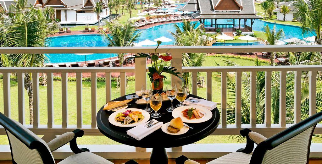 Krabi es un regalo para la vista que gozará desde su balcón