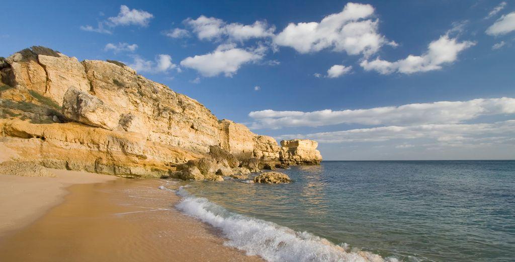 Bellas playas en Algarve para su descanso