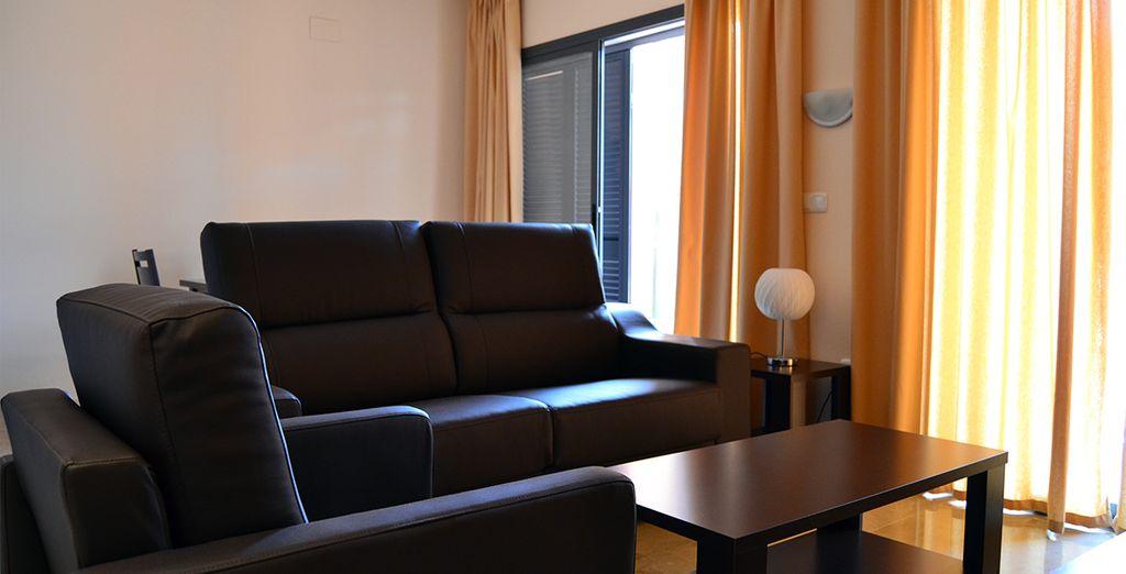 Apartamentos amplios y confortables