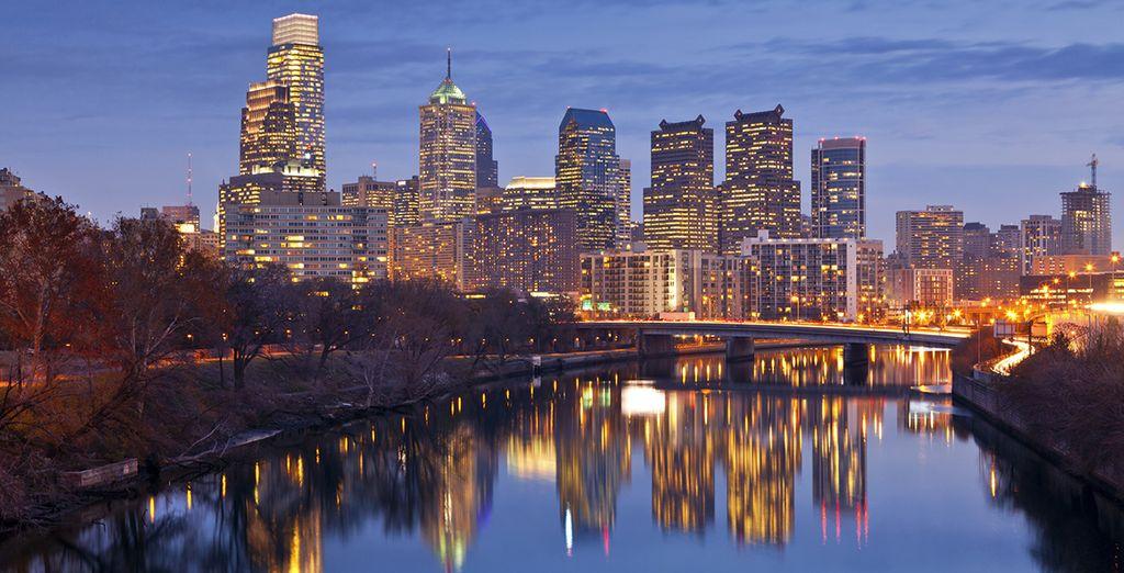 En Filadelfia se firmó la declaración de independencia que dio origen a los Estados Unidos como país