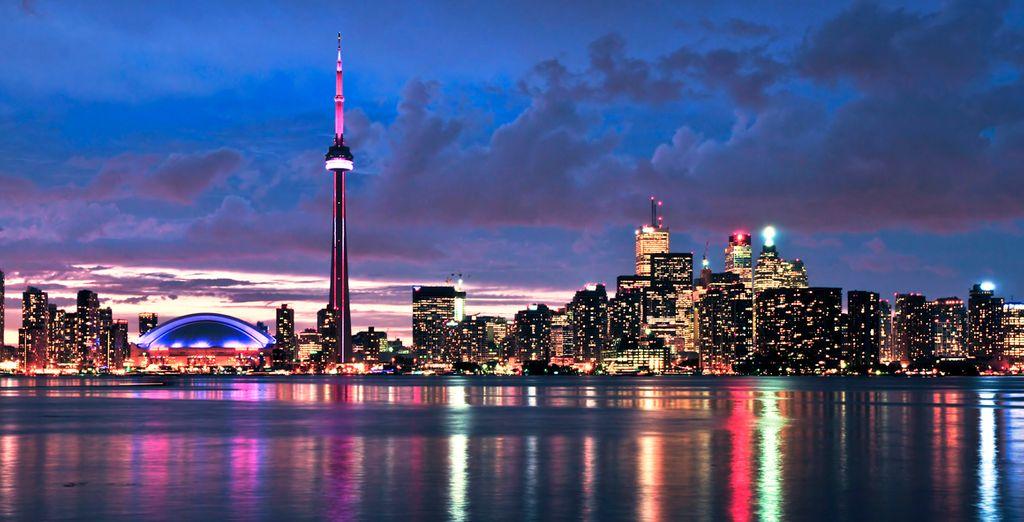 Toronto es una ciudad llena de energía que no da lugar al aburrimiento