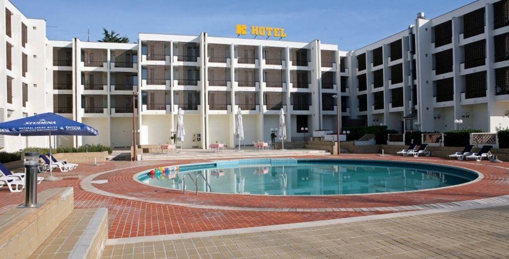 Hotel Kolovare 4*, Zadar