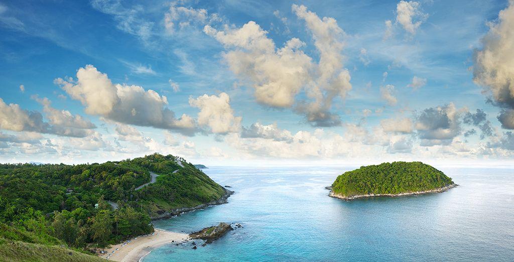 Preciosas playas de agua turquesa le esperan