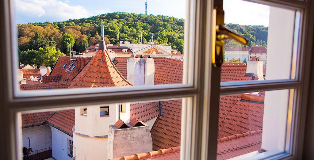 Las vistas desde el hotel son puro romanticismo