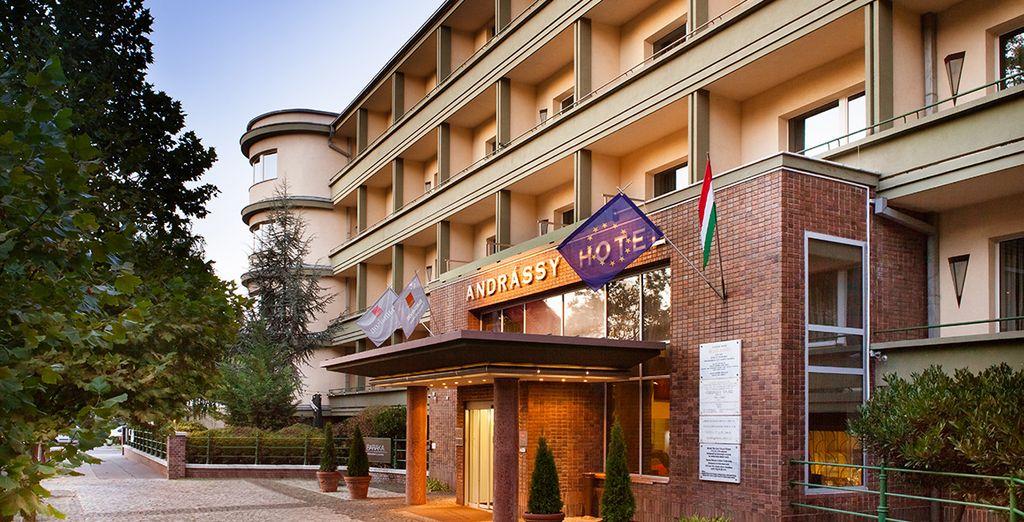 Descubra este lujoso hotel en el centro de Budapest