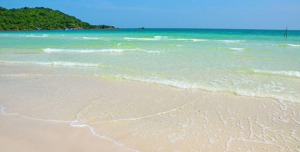 Kiloméricas playas de arena blanca y aguas cristalinas