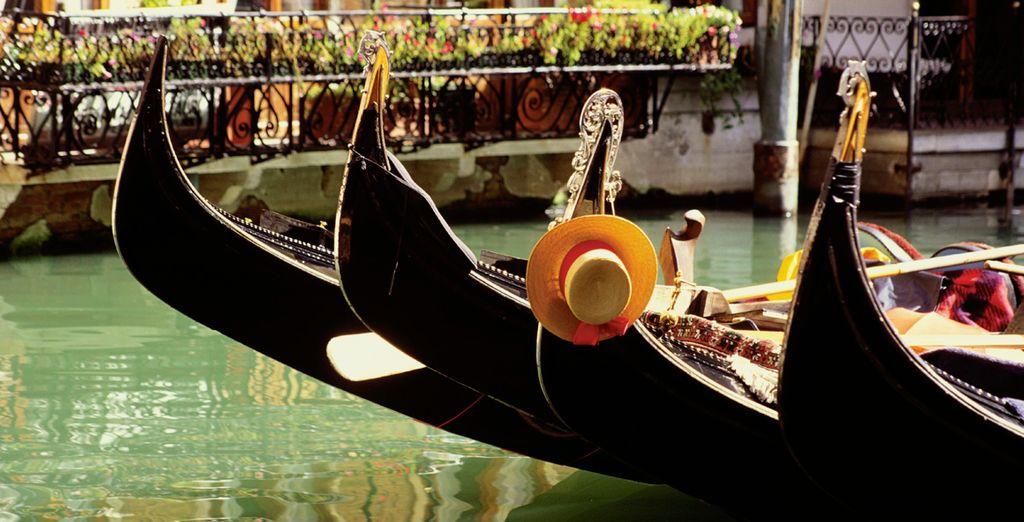 Si viene a Venecia, no podrá evitar un paseo por los canales en góndola