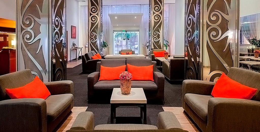 Interiores acogedores y lujosos