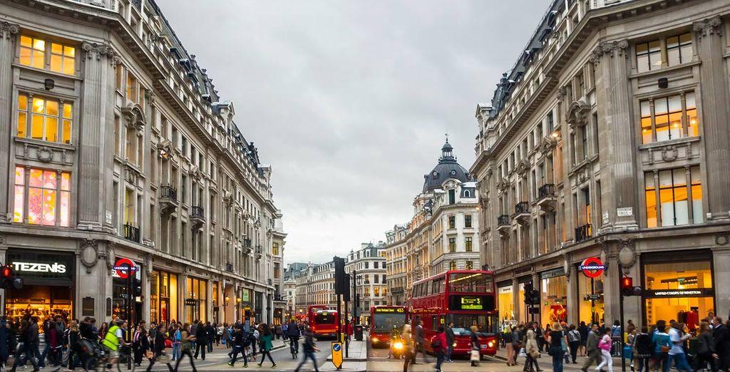 Venga a visitar la capital del Reino Unido