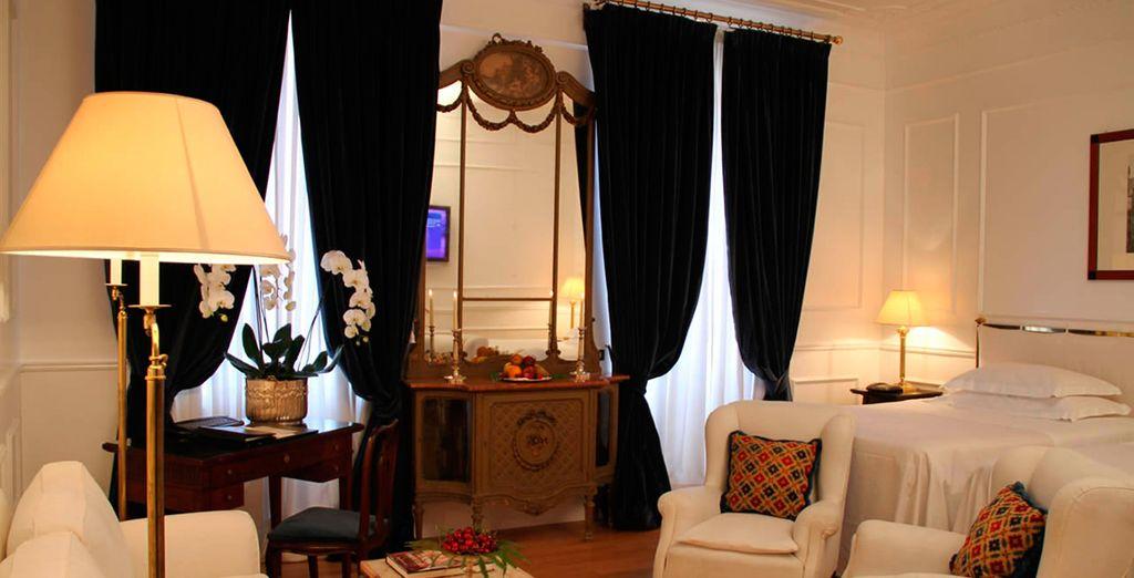 Sublime habitación Superior para un descanso ideal...