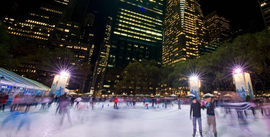 Pista de patinaje sobre hielo de Bryant Park
